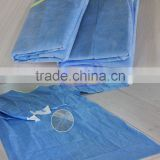 nonwoven white cotton surgical hospital gown