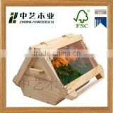 2015 hot selling FSC&SA8000 Decorated wooden box for flowers flower holders wooden planter box with manufactured sale