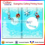wholesale animated merry christmas greeting card printing