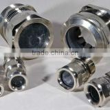 Metal cable glands for Aluminum Box