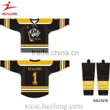Custom International Ice Hockey Jersey Sewing Pattern Equipment Sports Clothing