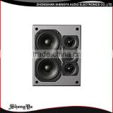 New fashionable av surround speaker 1 inch tweeter 4 inch mid bass dj bass dj ibastek speaker