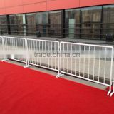 outdoor event City road portable steel crowd control barrier