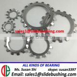 Lock Washers For Ball And Roller Bearing Star Lock Washer Carbon Steel W-06 W-07 W-08 Washers