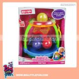 Baby brain development toys mini basketball baby music toy