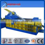 Hydraulic driven type China factory made waste management environmental and recycling scrap metal scrap tire baler equipments