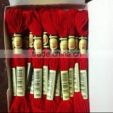cotton thread15032003 100% cotton cross stitch thread embroidery cotton thread with 447 DMC colors
