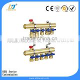 brass manifold for underfloor heating central heating manifold