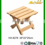 Custom Bamboo Outdoor Kid Furniture Foldable Design Chair Child Chair