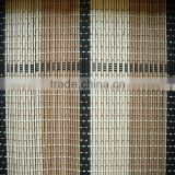 Elegant and beautiful bamboo curtain/colored bamboo blind/matchstick roller bamboo curtain