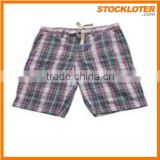 Cheap and Good quality Polyester Men Plained shorts Beach shorts surplus stock clearance