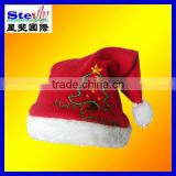 yiwu factory polyester promotional hats for christmas (ST-FM04-2)