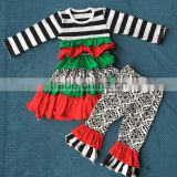 Baby Kids Autumn Christmas Boutique Outfit Children's Clothing Sets Baby New Years Outfit QL-166