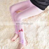 2016 Spring new children's pantyhose Korean super beautiful bow Children stockings cotton tights