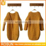 Women Heavy Chunky Wool handmade Cardigan Sweaters