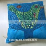 embroidery cushion good quality pillow j shape cushion pillow