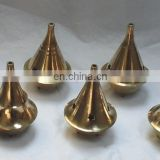 BRASS INCENSE BURNER SET OF 6 PCS
