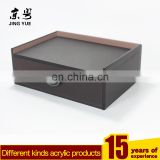Factory direct hotel supplies pmma plexiglass acrylic drawer box with diamond knob