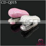 Fashion Decorative Pink Rhinestone Stapler CD-Q015