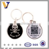 NFC pet tags with unique qr cdoe in low price