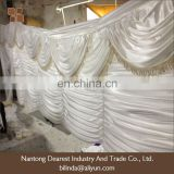 white ice silk Wedding Backdrop/party backdrop