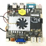 Quad-core four thread Motherboard With CPU Intel Celeron J1900 Support OEM