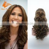 27# Natural hair full lace wig virgin 100% human hair wig 8a grade brazilian hair