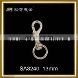 2014 fashion PVD coat swivel snap hooks for handbag accessories manufacturer SA3240