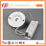 Good quality 3W emergency ceiling light, emergency funcion 3hours battery backup emergency light for fire escaping