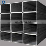 Carbon steel welded rectangular steel pipes, sheet metal square tube steel for hot sale