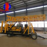 XYX-44A wheeled hydraulic core drilling rig/diamond core drill rig