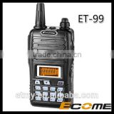 Hot sale! digital ET-99 fm amateur 128ch radio vhf