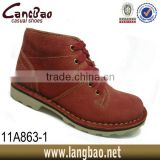 2014 men casual shoes of leather safety shoes