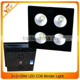 Warm White/ Cold White 50W/ 100W LED COB blinder, Stage Equipment LED DJ Blinder Light