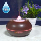 Aromatherapy Essential Oil Diffuser Wood Grain Room Ultrasonic Humidifier & Night lights AN-0432