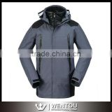 Windproof Hooded Softshell Waterproof Breathable Men's Gym Suit