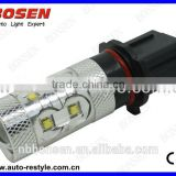 super bright P13W50w cree headlight with projector