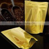 Natural Kraft pouch plastic Coffee Bag With Zipper lock                                                                         Quality Choice