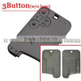 Best quality Replacement 3 Button Remote Key Card Shell Case Fob W/O Logo For Renault Laguna