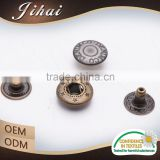 China Wholesale Fastenering Custom Metal Fashion Jewelry Snap Button