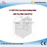 LY 920 OCA Non dust work table with aluminum vanes Fan Filter Unit