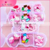 Factory Best Price Hello Kitty Butterfly Kids Girls Crystal Hairbands Hair Accessories set