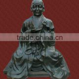 Guangzhou factory customized large fine glass fiber reinforced plastic Buddha sculpture landscape