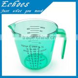 Cheap price 600ml plastic plastic measuring jug