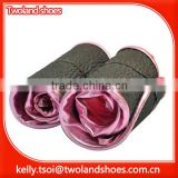 Delicate women roll up ballerina rollasole shoes