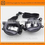 Hot Sale Osram LED Fog Light for Toyota Prado FJ 150 LC150 Super Bright Auto Fog Light for Toyota Prado FJ150 LC 150 2010-2013