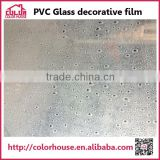 NEW ARRIVAL decorative stained glass window film manufacturer accept OME