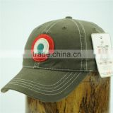 unique brushed 100 cotton twill baseball caps/baseball cap hard hat