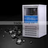 FD-120A CE 100KG 201 stainless steel commercial ice cube maker for coffee shop or restaurant