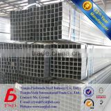 mild pregalvanized square hollow section welded steel pipes price
